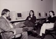 History seminar at Homecoming, 1997
