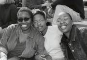 Dickinsonians at Homecoming football game, 2000