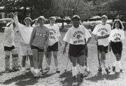 Alumni Field Hockey team at Homecoming, 1991
