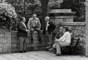 Alumni at Homecoming, 1991