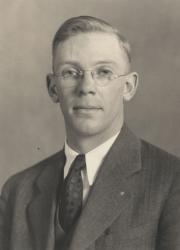 Bernard Edgar Burr, 1928