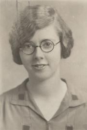 Lydia Brown Betts, 1929