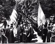 Academic Procession at Commencement, c.1955