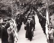 Faculty Procession at Commencement, 1949