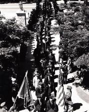 Faculty Procession at Commencement, 1961