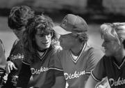 Softball team bench, 1988