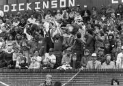 Sigma Chi at a football game, 1986