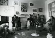 Women's Center meeting, 1992