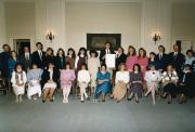 Alpha Lambda Delta induction ceremony, 1989