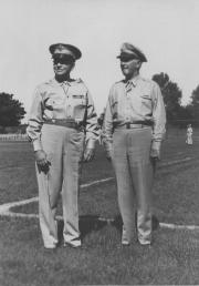 General Davis and Major Hank, 1944