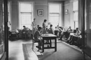 Conway Hall recreation room, 1944