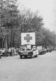Front of the Civil War Float, 1948