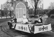 Civil War Float in the 175th Anniversary Parade, 1948