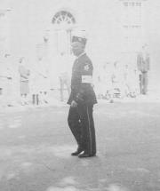 Soldier in the 175th Anniversary Parade, 1948