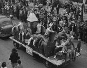 Veterans Return to Denny Float, 1948
