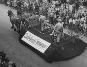 Confederate Encampment Float, 1948