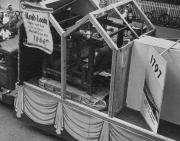 Hand Loom Exhibit on the Progress With Carlisle Float, 1948