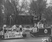"Zeta Psi, ""Outlawed"" Float, 1948"