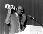 John Barth lecture, Arts Award, 1980
