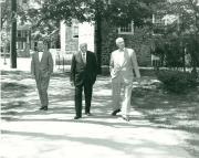 Robert Frost with President Edel, Arts Award, 1959