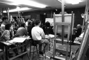 Leon Golub workshop, Arts Award, 1992