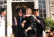 Susan Stewart receives honorary degree, 1998