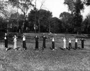 Women's Archery Class, 1934