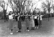 Women's Archery, c.1940