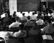 Biology Class, c.1955