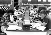 Biology lab, 1984