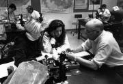 Biology lab, 1990