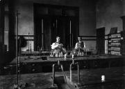 Chemistry lab, c.1900