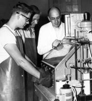 Chemistry lab, c.1960