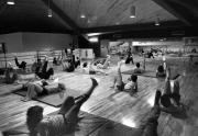 Aerobics class, 1983