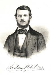 Andrew J. Wilcox, 1857