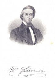 William J. Stevenson, 1858