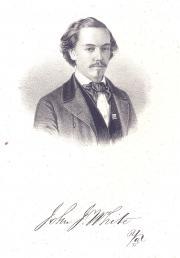 John J. White, 1858