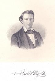 Joseph P. Wright, 1858