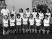 Women's Cross Country Team, 1985