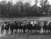 Women's horse riding, c.1945