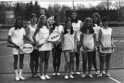 Women's Tennis Team, 1972