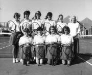Women's Tennis Team, 1986
