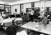 Class in the May Morris Room, 1981