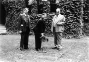 Bosler Hall renovations, groundbreaking ceremony, 1940