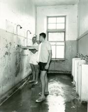 Conway Hall bathroom, c.1960