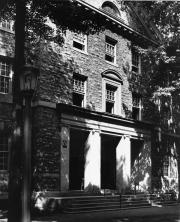 Bosler Hall entrance, c.1965