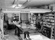 Bosler Hall workroom, c.1965