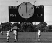 Biddle Field scoreboard, 1952