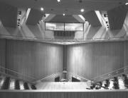 Anita Tuvin Schlechter Auditorium interior, 1971