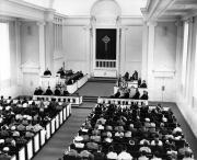 Allison United Methodist Church dedication ceremony, 1958